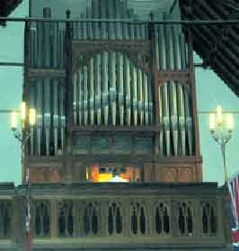 anglican church pipe organ