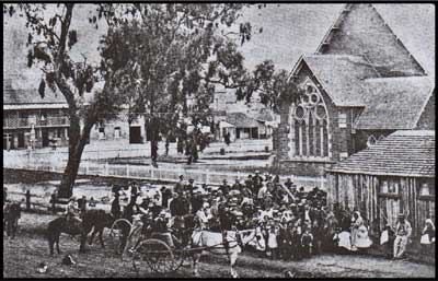 early mudgee school near st johns