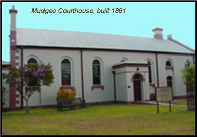 early mudgee court house